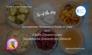 Did you know? There are billions of tiny bacteria living in your gut. They're good guys, friendly, influence your health, and need to be properly fed. Fermented foods will do the trick.