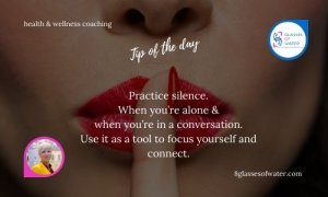 Did you know? There are 'silence' retreats. These are places where people actually pay good money to go to and don't say a word for days in a row.