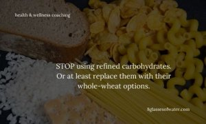 Did you know? Refined carbs affect your ability to use your prefrontal cortex, which means (amongst others) diminished ability to make good choices. They also have a huge impact on your energy levels.