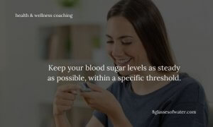 Did you know? Blood sugar fluctuations are responsible for your energy fluctuations.