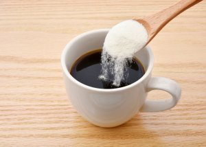coffee with collagen in a health and wellness coaching article presenting 2 simple ways to have better skin
