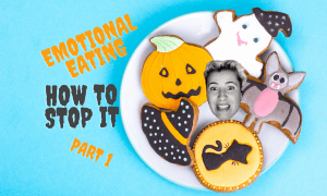 Article on how to deal with an emotional eating disorder, how to stop emotional eating