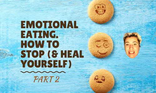 Part 2 of an article on how to deal with an emotional eating disorder, how to stop emotional eating